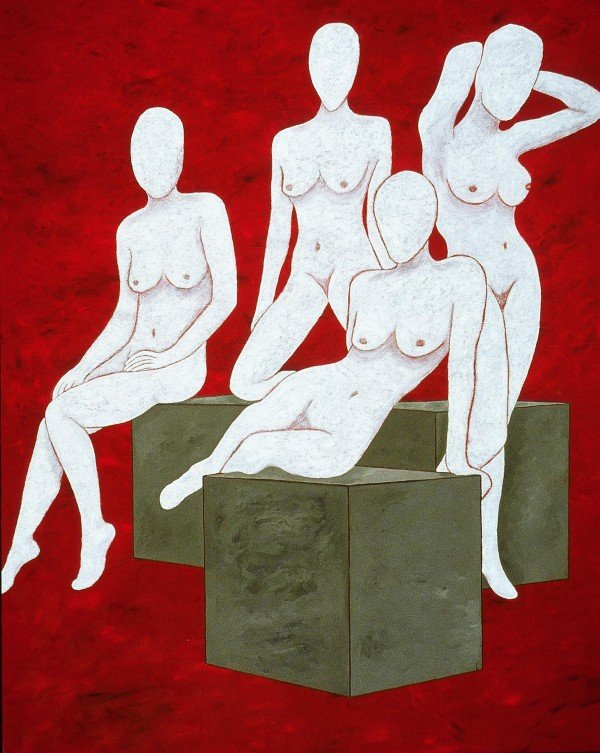 George Mullen, The Ladies of 5th Avenue, 1997, 60