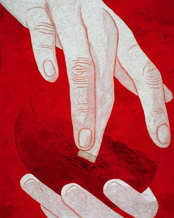 George Mullen, The Hands of God - the Seventh Day, 1998, 60