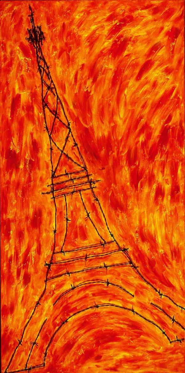 George Mullen , Paris Art: A Death in Paris, 1997, 48