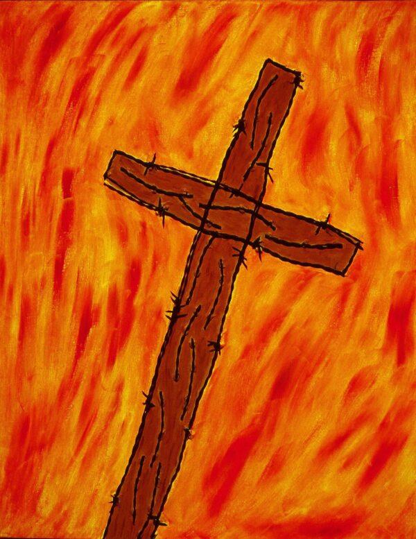 George Mullen, Crucifixion, 1997, 28