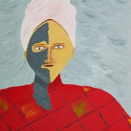 George Mullen, People Without a Homeland, 1993, oil on canvas. Copyright © 1993 George Mullen. All rights reserved.