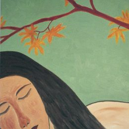 """George Mullen, The Sleep, 1996, oil on canvas, 20""""x24"""". Copyright © 1996 George Mullen. All rights reserved."""