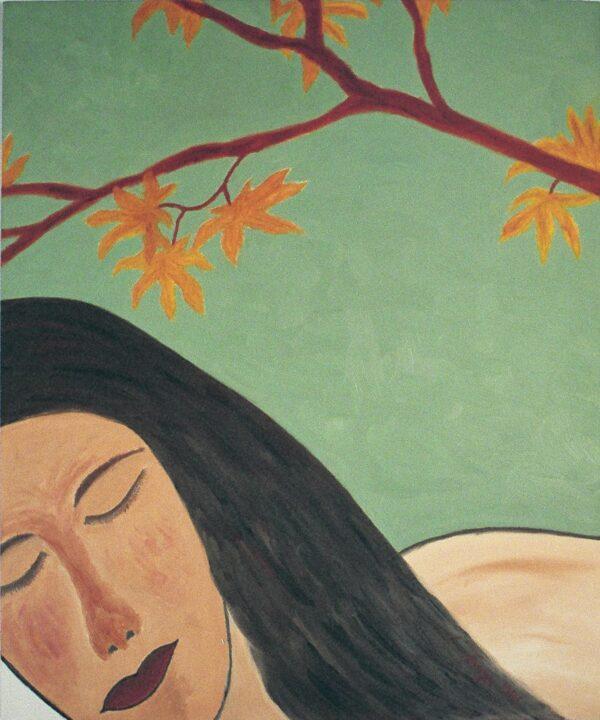 George Mullen, The Sleep, 1996, oil on canvas, 20