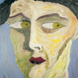 "rge Mullen , The Intensity of Being, 1996, 20"" x 16"", oil on canvas. Copyright © 1996 George Mullen. All Rights Reserved."