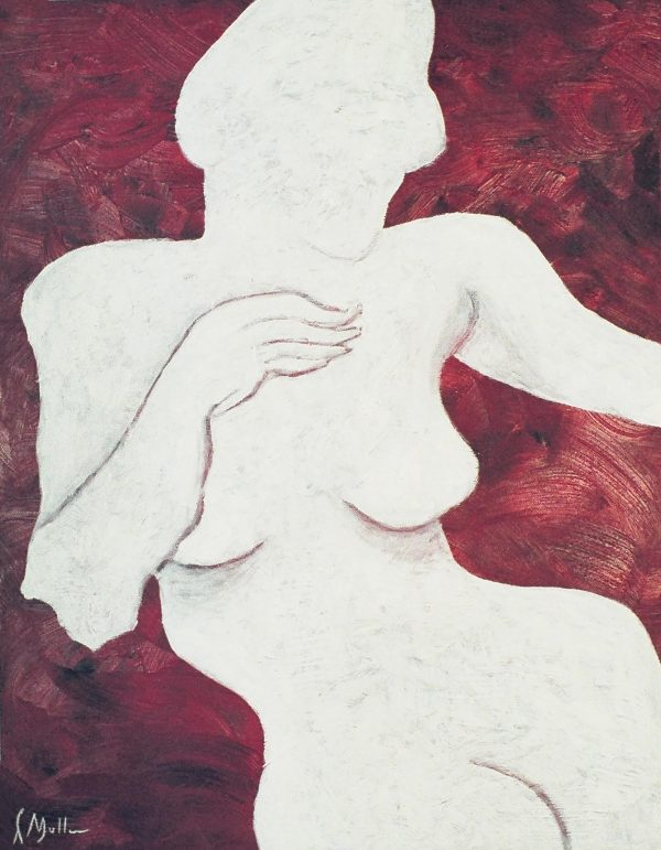 George Mullen, The Gesture, 1997, oil on canvas, 18