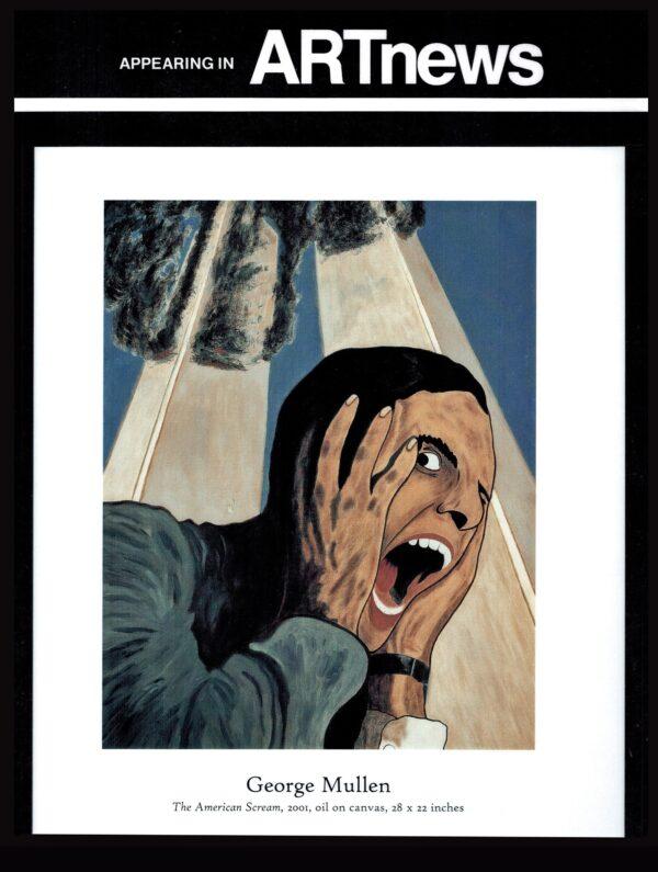 American Scream on cover of Art News