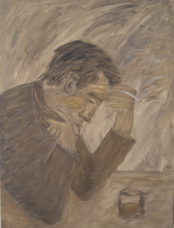 George Mullen, Sevilla Nights – Being?, 2011, 24″ x 18″, oil on canvas. Copyright © 2011 George Mullen. All Rights Reserved.