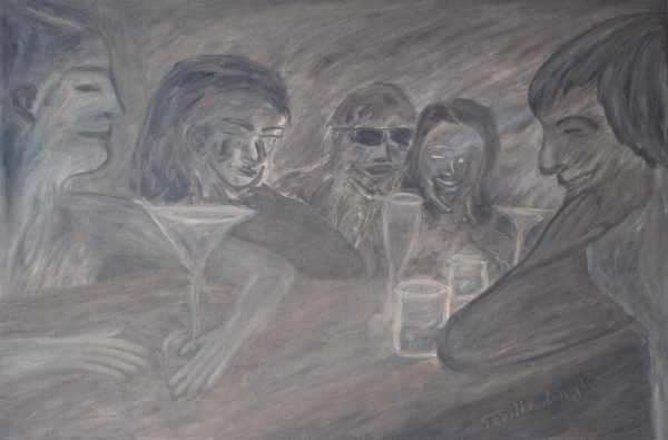 George Mullen, Sevilla Nights - The Last Drink (Christos Appears), 2009, 24