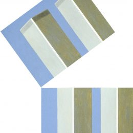 """George Mullen, Sept 11 Art / 911 Art: """"Oh My God!"""" (3 of 5), 2002, 18"""" x 24"""" each, oil on canvas. Copyright © 2002 George Mullen. All Rights Reserved. """"Nothing left to paint, nothing left to say...September 11 is an irreversible scar seared upon our collective soul."""""""